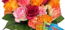 livraison fleurs anniversaire bonbons