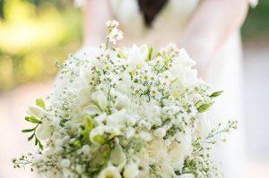fleurs blanches mariage