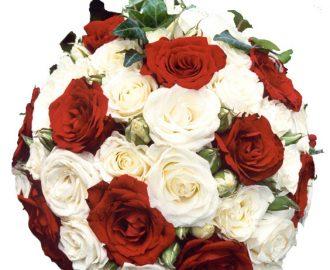 fleurs rouges mariage